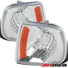 For 1997-2003 Ford F150 Expedition Clear Lens Corner Turn Signal Lights Lamps