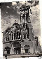 89 - cpsm - VEZELAY - Façade principale de la basilique de la Madeleine (H4329)