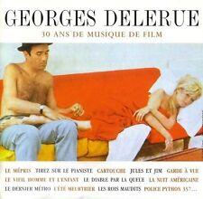 2 CD Georges DELERUE 30 ans de musique de film Le mépris Jules et Jim RARE