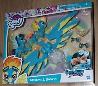 My Little Pony Guardians of Harmony Spitfire and Soarin Hasbro B6011 zoom around