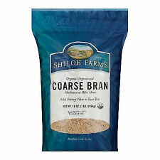 Shiloh Farms Organic Coarse Wheat Bran - Case Of 12 Lbs