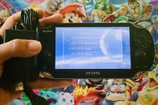 Sony PlayStation Ps Vita Psv Console Oled Wi-Fi Pch-1000 + Charger Low Grade