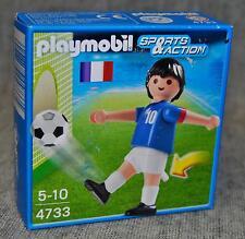 Playmobil 4733 Fußballspieler Frankreich Fußball Sports & Action Neu