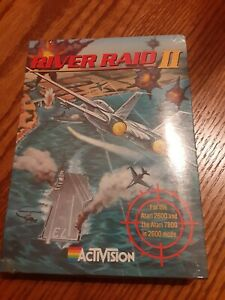 Atari 2600 River Raid II 2 NEW SEALED Shrinkwrap  R6 Rare+