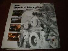 1999 FORD LINCOLN MERCURY SVT COBRA LIGHTNING CONTOUR PRODUCT INFORMATION ALBUM