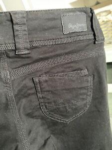 Pepe Jeans Venus 28/32 schwarz regular fit, Low waist, straight leg