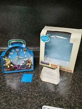 Masters Of The Universe MOTU Quartz Alarm Clock He-Man Skeletor Teela 1983