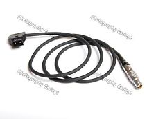 New D-Tap to 6pin Female 1B Soft Silicone Power Cable for Red Scarlet Epic
