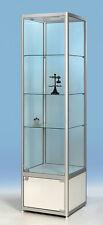 Standvitrine mit praktischem Unterschrank,Für Sammler  H190x50x50 C-5.5.1 SW