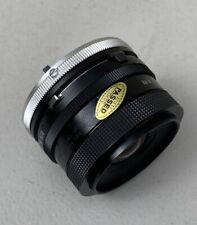 Tamron 28mm F2.5 (02B) Adaptall 2 BBAR rivestimento (Canon) Monte FD