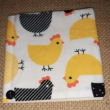 Handmade Pin Cushion /Needle Case To Match  (Easter chicks )