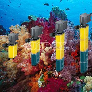 Submersible Aquarium Internal Pump and Filter or Fish Tank 100L- 350L -UK