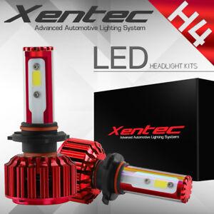 60W 6000LM H4 LED Light Headlight Vehicle Car Hi/Lo Beam Bulb Kit 6000k White