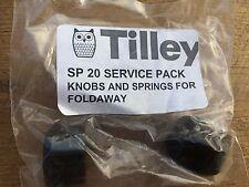 Genuine Tilley Lamp Service Pack SP20 manopole e molle per letto pieghevole Bruciatore a gas
