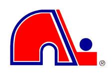 QUEBEC NORDIQUES VINTAGE LOGO NHL FRIDGE MAGNET