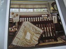 FAO Schwarz Manhattan Collection ~ Diaper Stacker & Window Valance Beige/Taupe