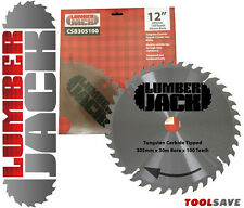"Lumberjack TRADE 12"" 305mm x 30mm Bore 100 tooth TCT Mitre Saw Blade"