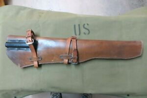 WWII US Army -  M1 Rifle Leather Scabbard - BOYT 1942     (3758)