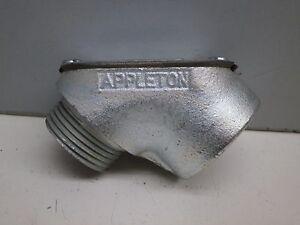 "Appleton MFL-100 Male to Female 1"" Inch Rigid Pulling Elbow 90-Degree Gasketed"