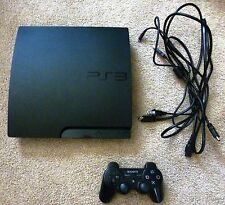 Sony PlayStation 3 Slim 120 GB Charcoal Black Console (NTSC - CECH-2001A)
