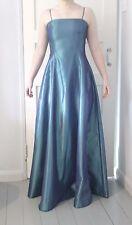 Unbranded Silk Patternless Regular Size Dresses for Women