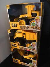 CAT Tough Tracks Toy Construction Set (The Digger, Front-end Loader +Dump Truck)