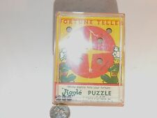 Fortune Teller 1957 Jiggle Puzzle made in Blasdell New York  (7242)