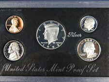 1992 S US Mint SILVER Proof Set 5-Coin Set in OGP Box