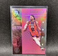 Derrick Rose Pink SSP 2019-20 Panini Illusions NBA #9 Detroit Pistons Rare