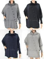 Casual Knit Tops for Women with Buttons