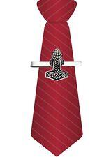 Mjolnir en un clip de corbata traje inteligente Barra Deslizante Estaño Joyería codedr 1003