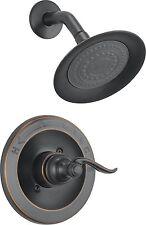 Delta Shower Faucet Trim Kit Bathroom Single One Handle Tub Oil Rubbed Bronze