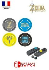 Lot 4 Protections Silicone Grip Joystick Série Zelda BOTW Manette Joycon Switch
