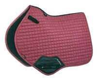 LeMieux ProSport Suede Close Contact Square French Rose, Size Large/Full