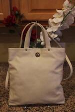 (z) KATE SPADE ivory leather turnlock convertible bag purse (pu700