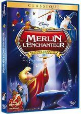 """DVD """"MERLIN L'ENCHANTEUR""""45EME ANNIVERSAIRE  DISNEYN°20   NEUF SOUS BLISTER"""