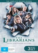 THE LIBRARIANS (COMPLETE SEASON 2 DVD SET - SEALED + FREE POST)
