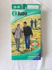 Juzo Compression Stockings 20-30 mmHg  2001 Type AD Sz 1 Below Knee Open Toe