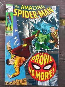 Marvel's Amazing Spiderman #79 (Dec 1969) - Fine Condition