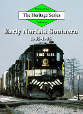 Railroad DVD: Norfolk Southern, Southern Railway and Norfolk & Western