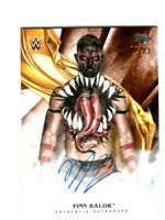 WWE Finn Balor 2019 Topps Undisputed Orange On Card Autograph SN 2 of 99