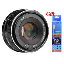 Meike 35mm f1.7 large Aperture Manual Focus lens for Fujifilm Mirrorless cameras