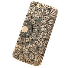 Henna Black Floral Flower Case Cover Skin Hülle for Apple iPhone 6 Black Friday