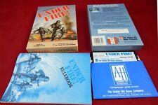 C64: Under Fire-Avalon Hill Game 1985 avec neuf dans sa boîte