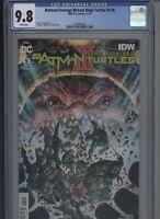 Batman/Teenage Mutant Ninja Turtles III #5 CGC 9.8 - James Tynion IV