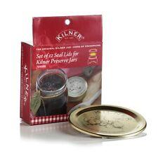 Set Of 12 Lids For Kilner Preserve Jars 70mm Lids