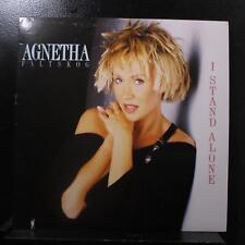 "Agnetha Faltskog - I Stand Alone 12"" VG+ 7-81820-1 Atlantic 1988 Vinyl Record"
