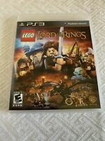 LEGO Lord of the Rings Sony PlayStation 3 PS3 Game Complete With Manual Tested