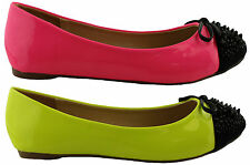 Isabella Brown Synthetic Ballet Flats for Women
