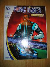 LeBron James DC Comics King James Driven 2005 Chevrolet Racing Powerade NASCAR